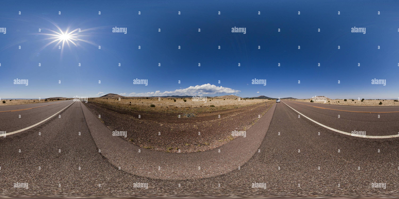 La U.S. Highway 60, cerca de Springerville, Arizona, EE.UU. Imagen De Stock