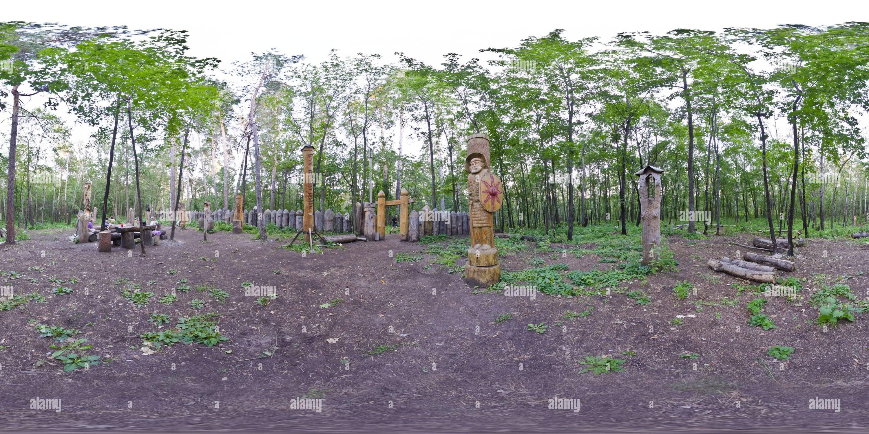 Los ídolos del templo 2 Imagen De Stock