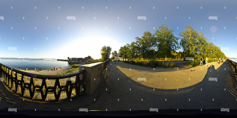 Terraplén Volga Imagen De Stock