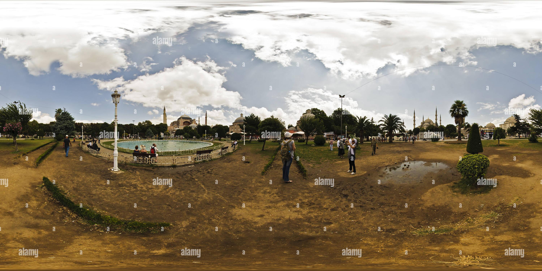 Estambul - Sultan Ahmet Park Imagen De Stock