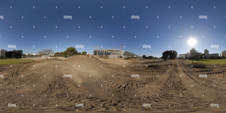 Estadio Green Point (antes de la Copa Mundial de la FIFA) Imagen De Stock