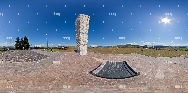 Spomenik Na Zlatiboru Imagen De Stock