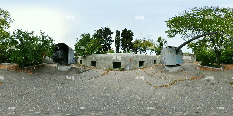 - Posición de defensa Sewastopol Imagen De Stock