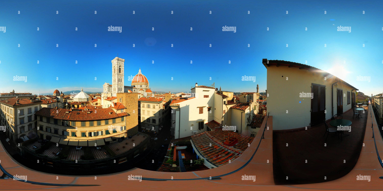 Los tejados de Florencia (Duomo) Imagen De Stock