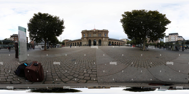 La Estación Central de Mainz Imagen De Stock