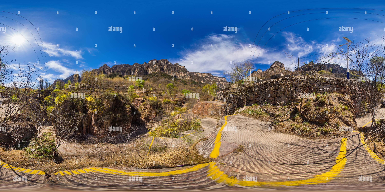 Las Montañas Taihang 2 Imagen De Stock