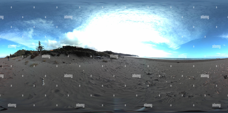 En la playa de Ohope Imagen De Stock