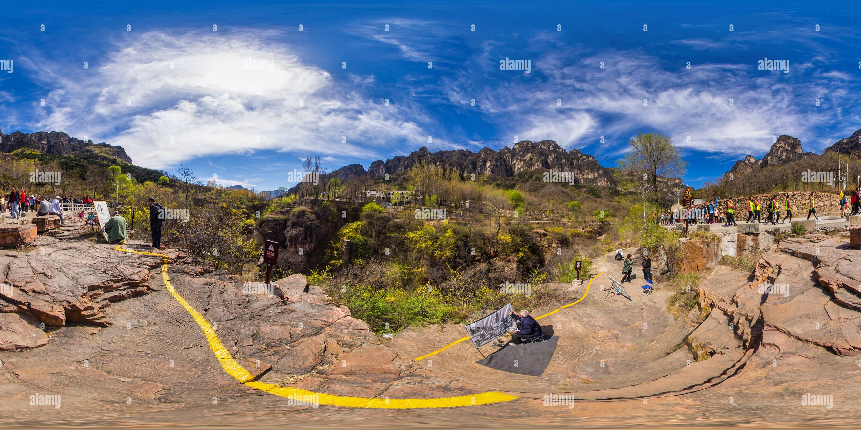 Las Montañas Taihang 5 Imagen De Stock
