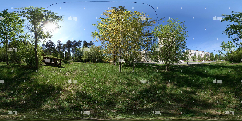 Ул. Подлесная. Офис Черняевского леса Imagen De Stock