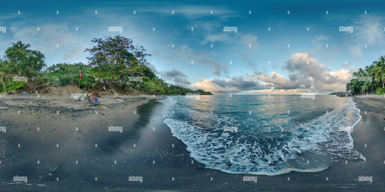 Playa Butas Butas Mauban Quezon Imagen De Stock