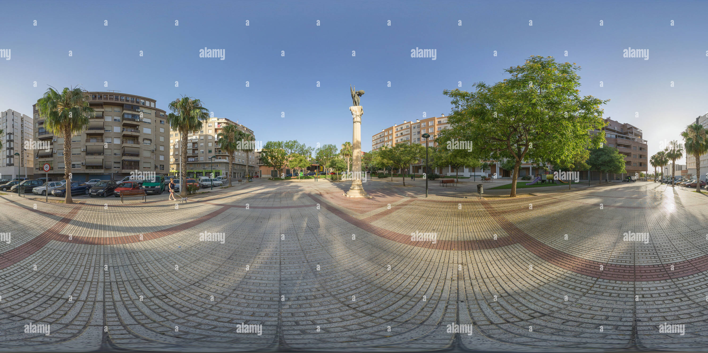 La Plaza de España. Imagen De Stock