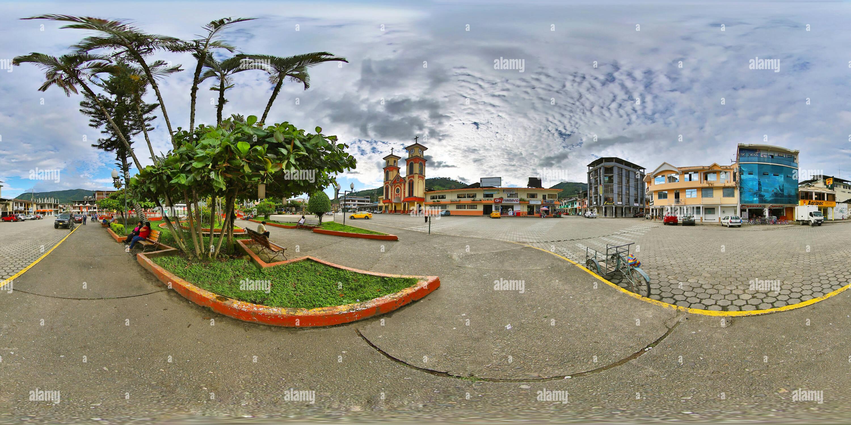 Parque Central de Yantzaza Imagen De Stock