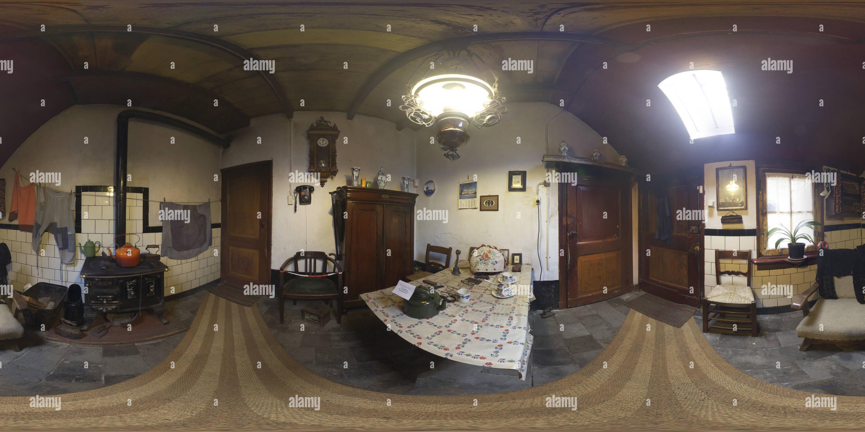 Vue panoramique à 360° de L'Hoeve Maria, la cuisine