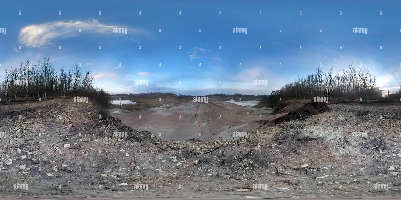 Vue panoramique à 360° de Umgehungsstrasse Herzfelde B1N