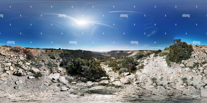 Vue panoramique à 360° de Bardena Negra