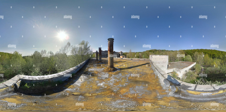 Vue panoramique à 360° de L'hôpital abandonné Razsochy