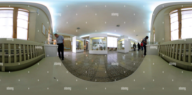 Vue panoramique à 360° de Musée national d'Iran - I