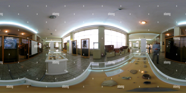 Vue panoramique à 360° de Musée national d'Iran - II