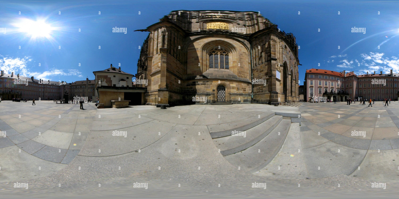 Vue panoramique à 360° de Château de Prague - I