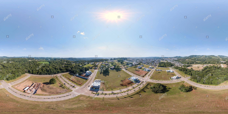 Vue panoramique à 360° de Loteamento