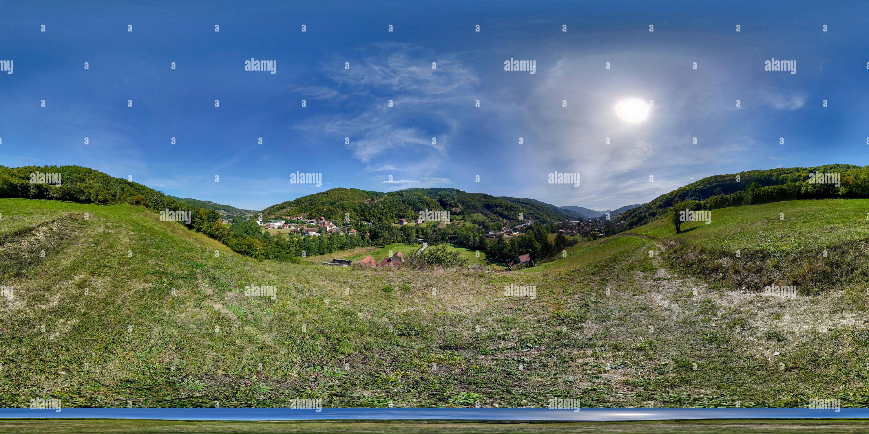Vue panoramique à 360° de Bajevica sous un autre angle le Sandjak de Novi Pazar 2809 2018