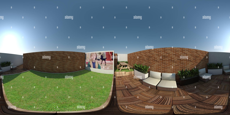 Vue panoramique à 360° de Clic