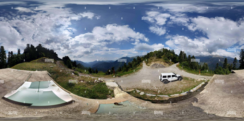 Vue panoramique à 360° de Baisse de colla Bassa (Breil-sur-Roya)