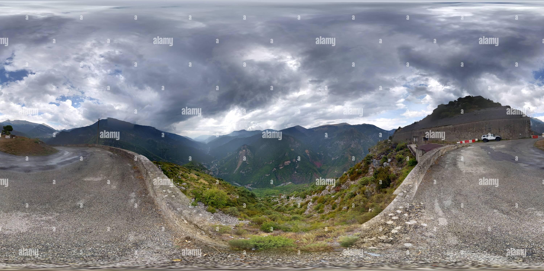 Vue panoramique à 360° de Ouvrage de Rimplas (Ligne Maginot)