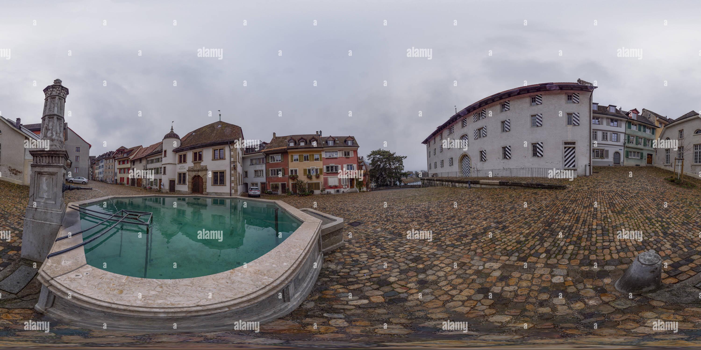 Vue panoramique à 360° de La vieille ville historique de Berne - Suisse