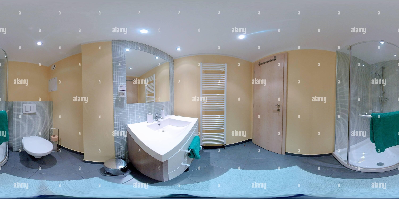 Vue panoramique à 360° de Salle de bain