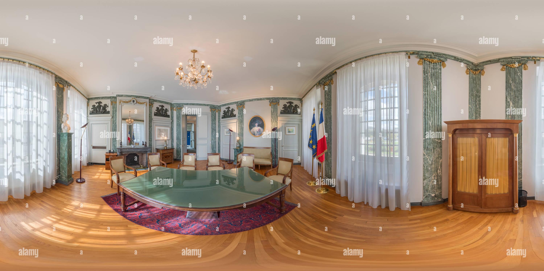 Vue panoramique à 360° de La salle de conférence à l'hôtel de ville