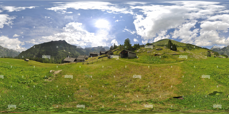 Vue panoramique à 360° de Dorf à Otro Crans-montana