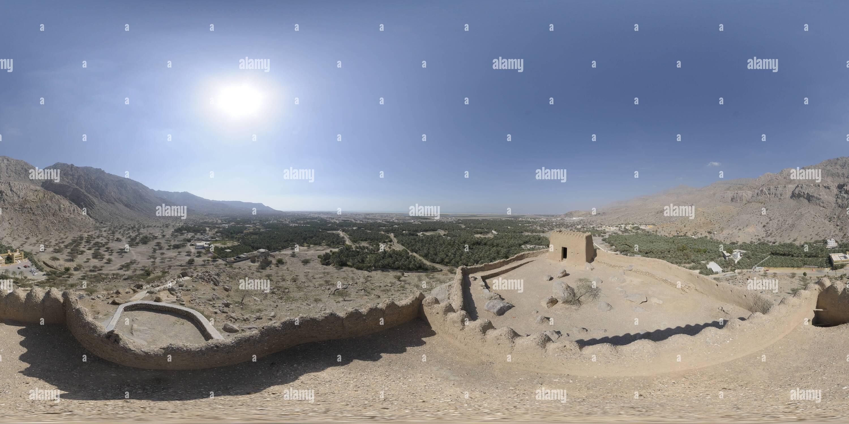 Fort Dhaya, Ras Al Khaimah, ÉMIRATS ARABES UNIS Photo Stock