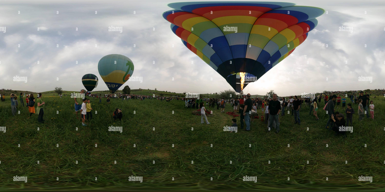 Festival de montgolfières 2010 Ruhama Photo Stock