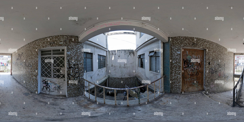 Les vieux bâtiments de l'Orizaba Photo Stock