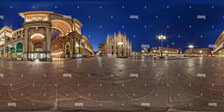 Piazza Duomo. Milan. Photo Stock