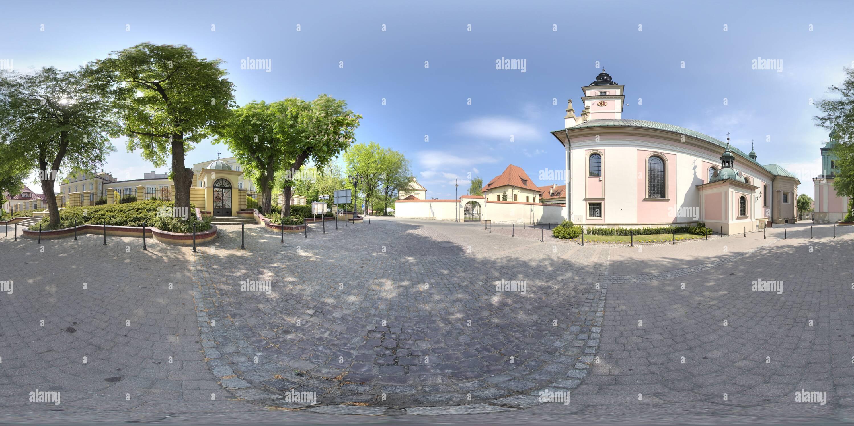 Église catholique Saint Clement à Wieliczka (2024) Photo Stock