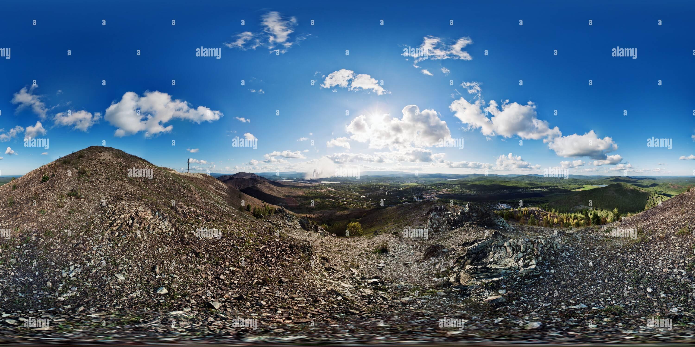 L'Panorama 360villes Photo Stock