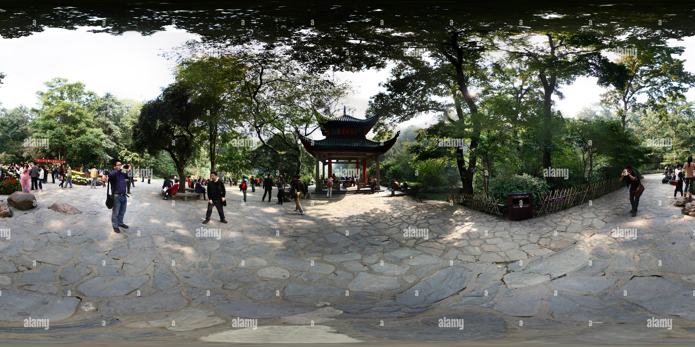 Aiwan Pavilion Square Photo Stock
