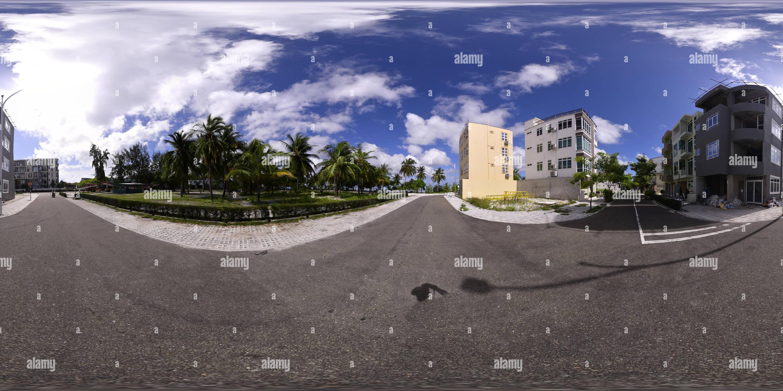Mise en valeur des terres et le plus ambitieux projet de développement urbain Photo Stock