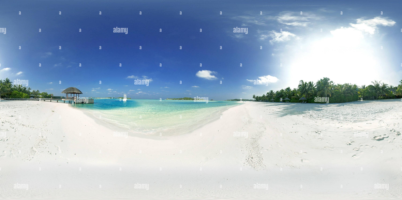 Anantara Dhigu Beach Photo Stock