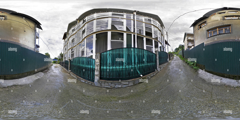 Village rue Kudepsta Photo Stock