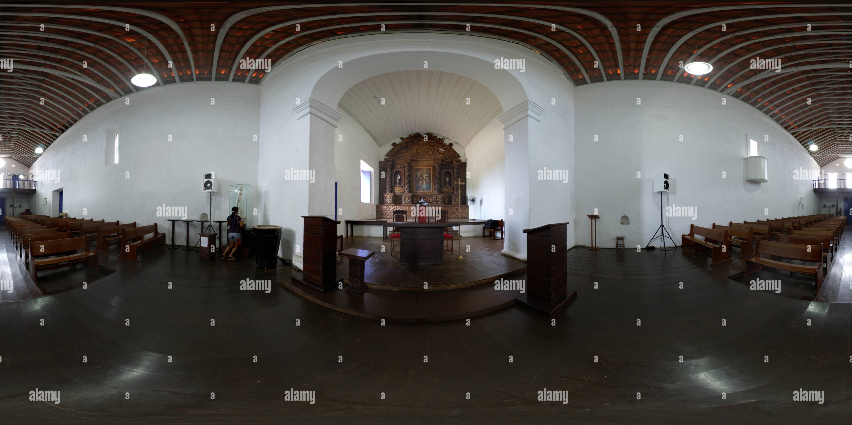 Église des Trois Rois, Nova Almeida Serra, Espirito Santo au Brésil. greja dos Reis Magos, Nova Almeida, Serra, Espírito Santo, Brésil Photo Stock