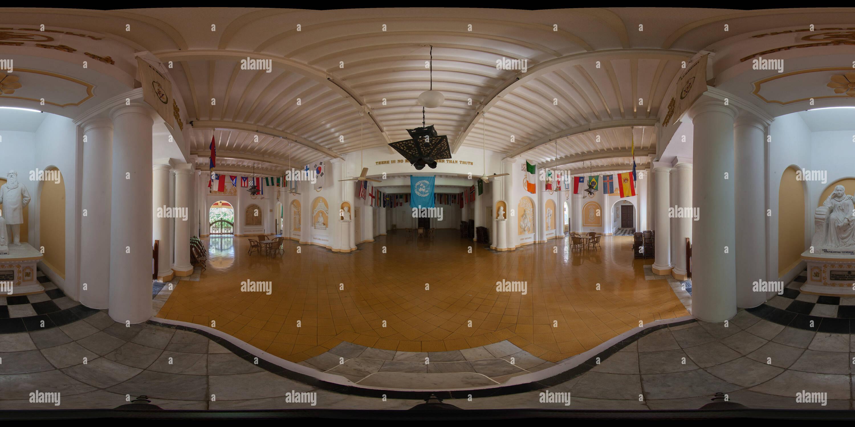 Hall de l'administration centrale - La Société Théosophique Adyar 03 Photo Stock