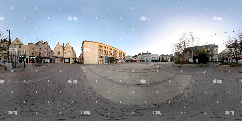 Coté rue de la mairie Photo Stock