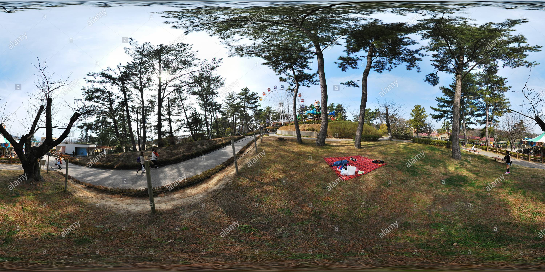 Le parc d'Okazaki Minami Photo Stock