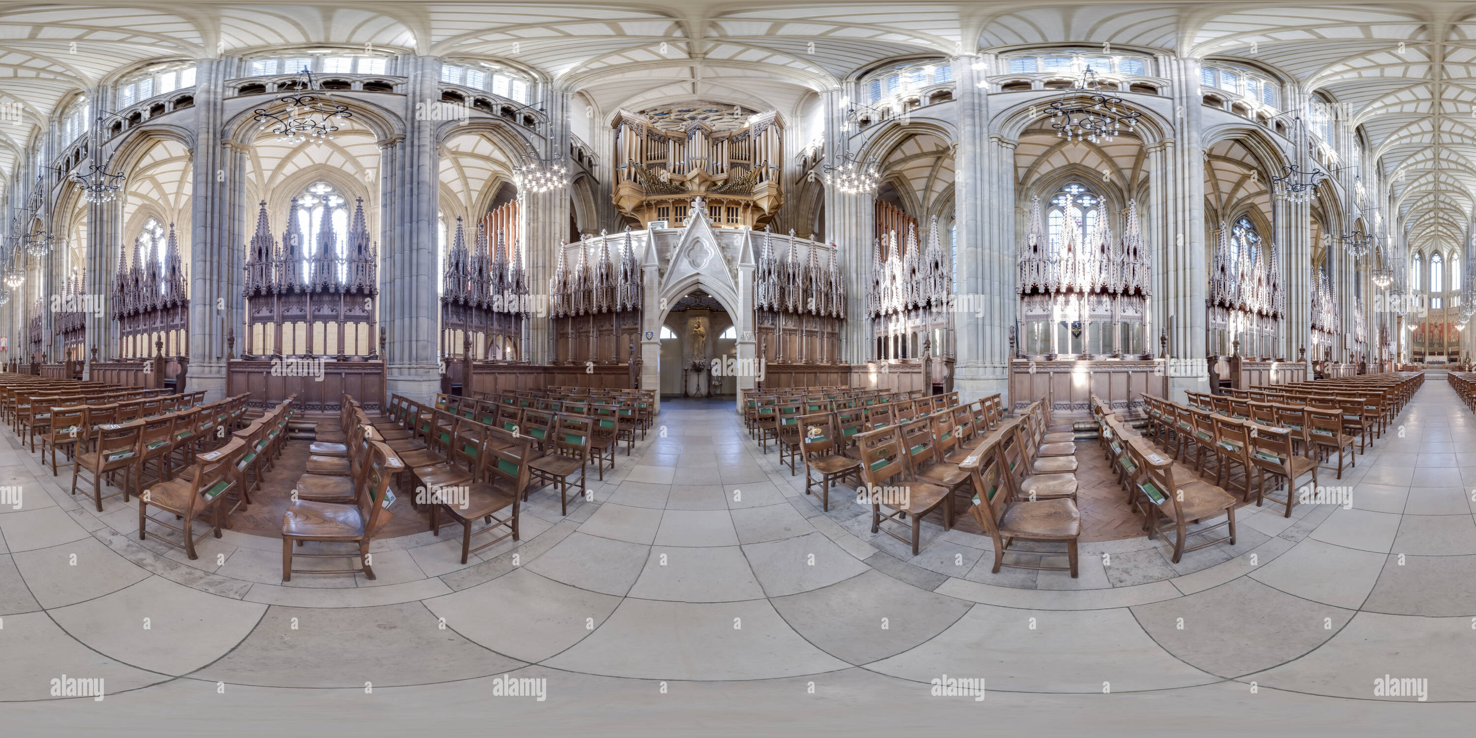 Lancing College Chapel, West Sussex Photo Stock