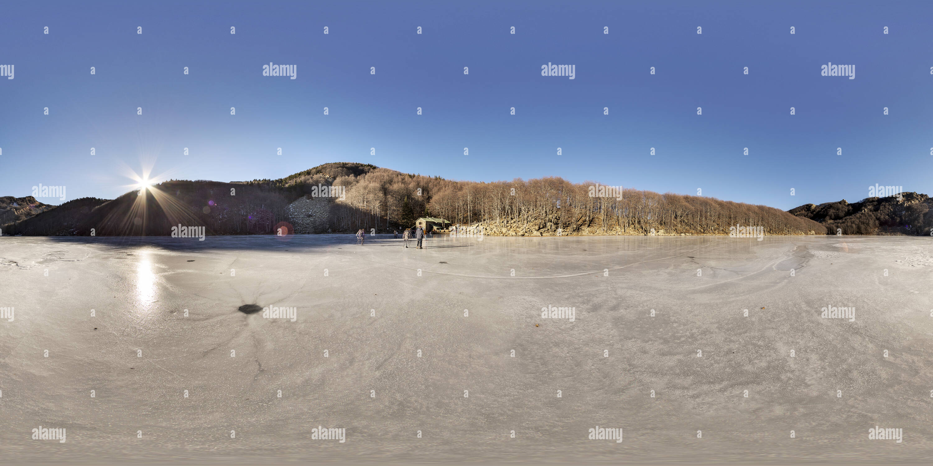 Santo Lake Photo Stock
