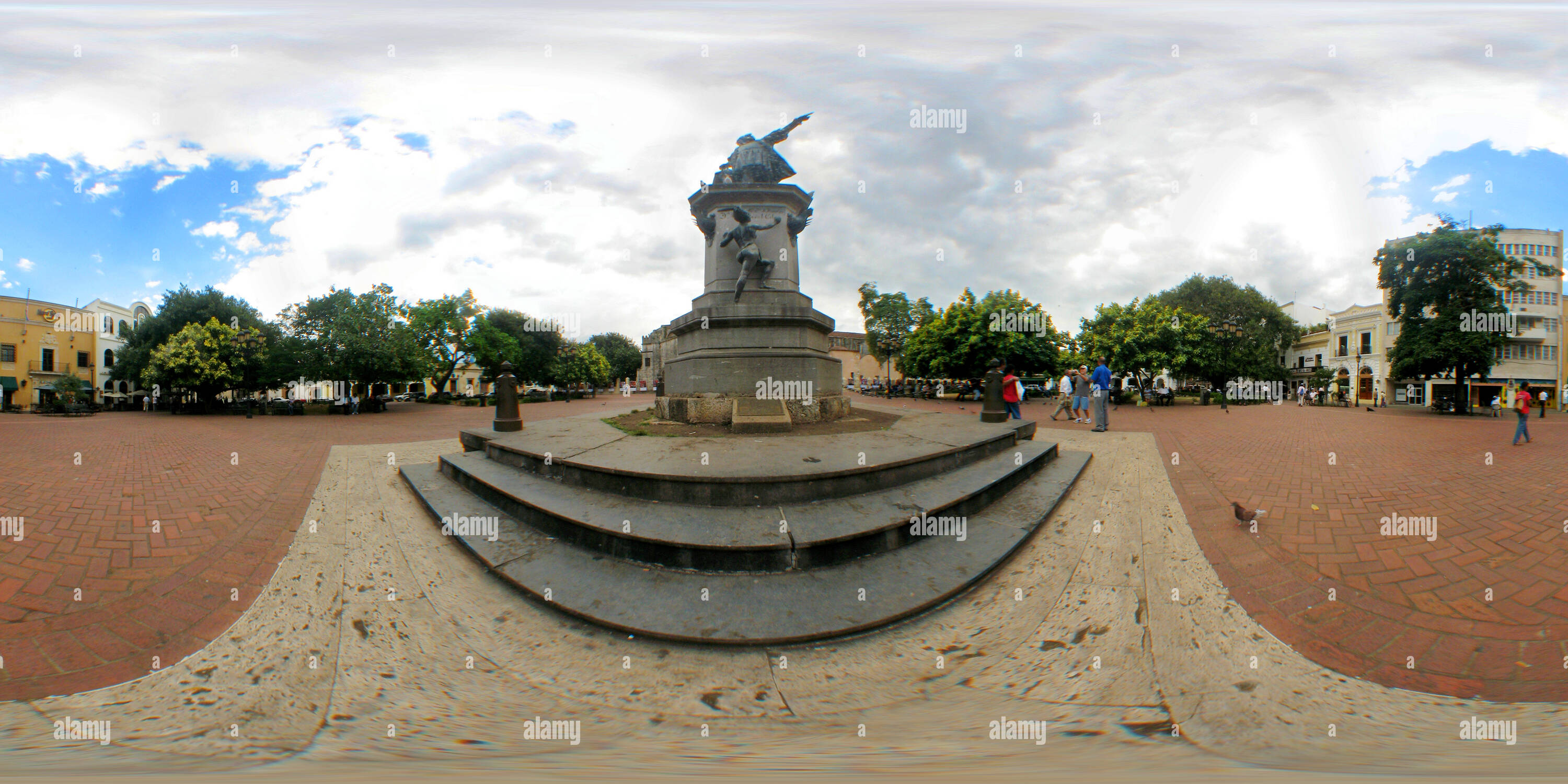 Statue de Columbus, Santo Domingo Photo Stock