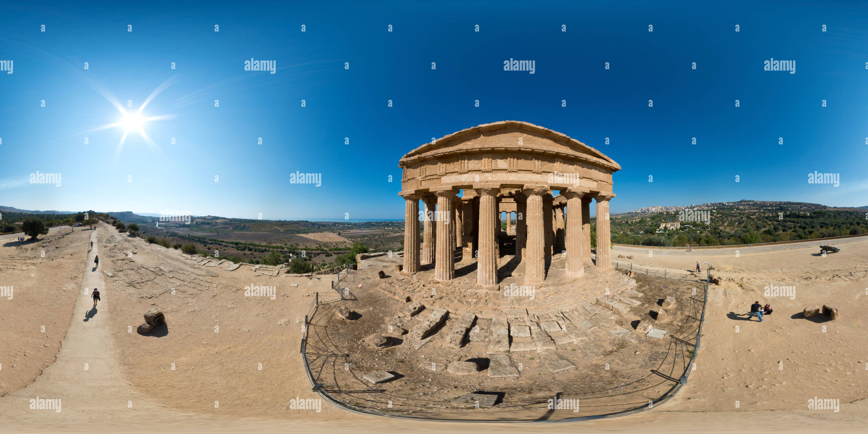 Concordia Temple Photo Stock